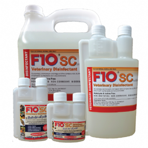 F10SC Veterinary Disinfectant - from £10.99